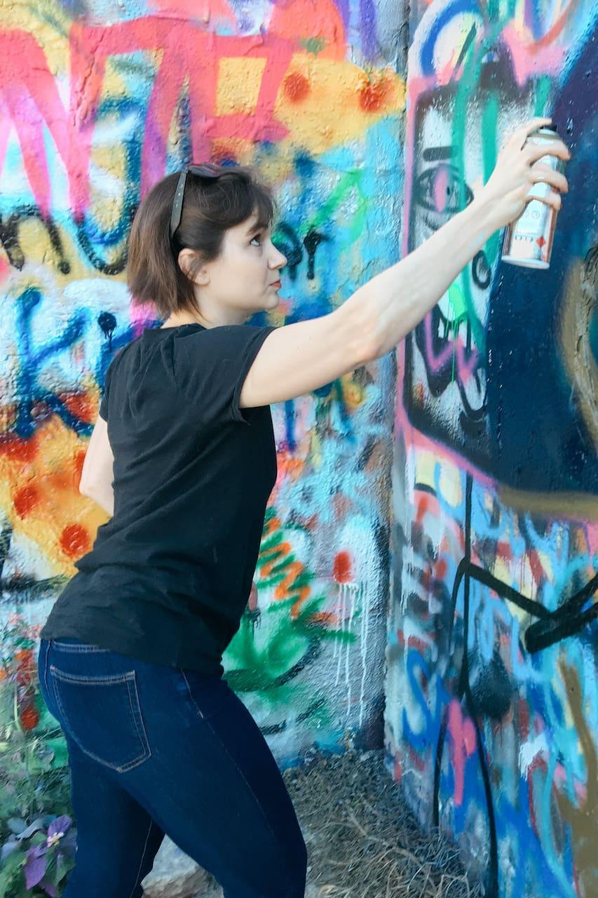 Créez Une Peinture Murale Avec Un Artiste De Rue