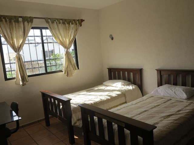 Lovely room in a fully equipped house