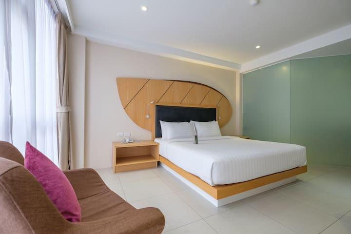 Iconic Room @ Hotel Icon | Ploenchit BTS - Bangkok - Leilighet