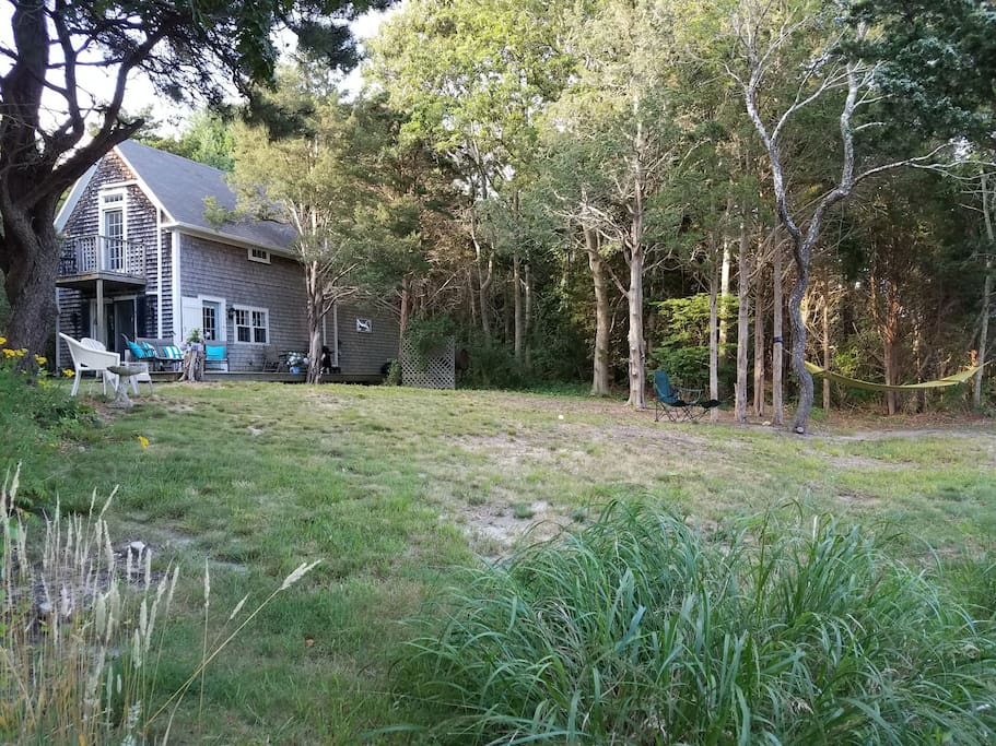 Spacious natural beauty surrounds our property. Privacy and central location makes staying very relaxing and easy.