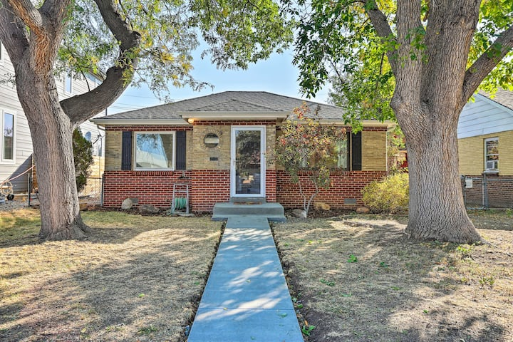 NEW! Denver Area Home w/ Yard, Walk to Dine & Shop