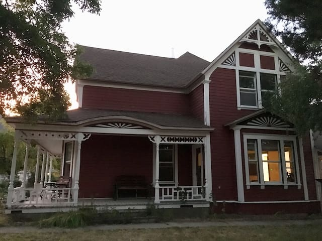 Classic Red Victorian in Etna, California