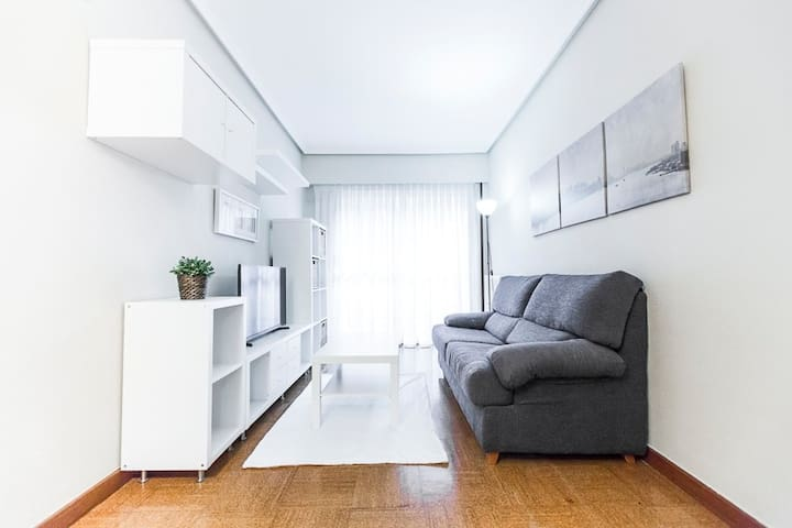 Zurriola beach house. Wifi/parking - Donostia - Квартира
