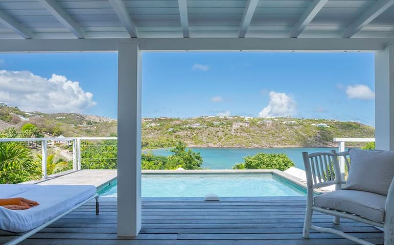 Teora - Ideal for Couples and Families, Beautiful Pool and Beach - Marigot - Villa