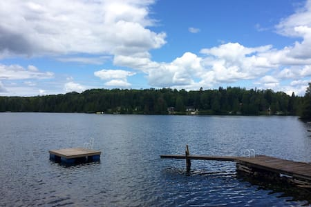 Amazing cottage 50 minutes away! - Duclos - Kabin