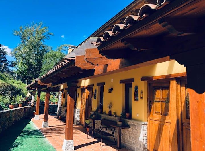 Alojamiento Rural Cosorios: habitación doble.