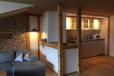 "Aarelodge riverside apartment ""wood"" - Unterseen"