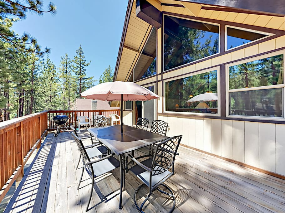 Your chalet is professionally managed by TurnKey Vacation Rentals.