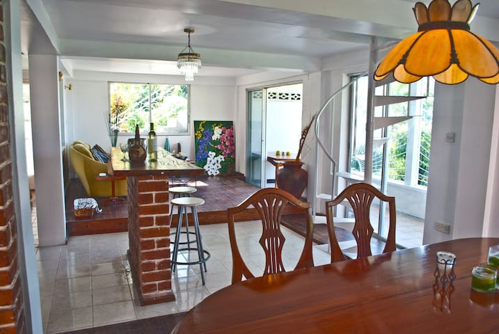 Spacious Hillside Villa Vacation Rental - Canefield - Willa