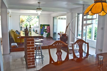 Vacation Rental with Ocean & Mountain Views - Canefield - Villa