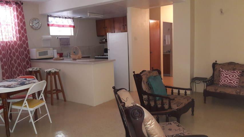 Spacious one Bedroom  Apartment - Oistins - Leilighet