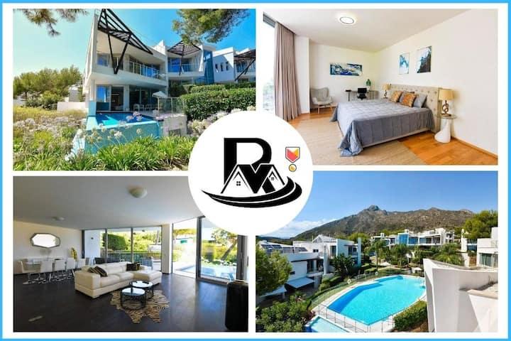 4 Floor Villa | Rooftop + Sea View | Private Pool✪