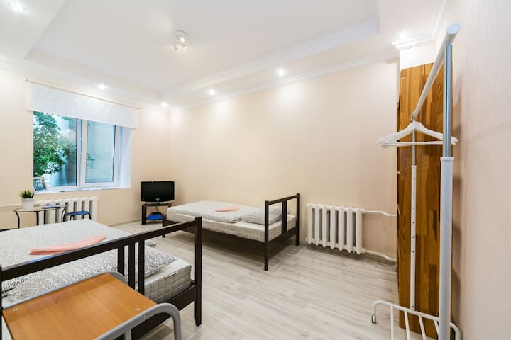 Cozy room near subway in the center of Moscow - Москва - Bed & Breakfast