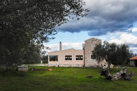 Luxury villa with gardens under Mystras castle - Mystras - Haus