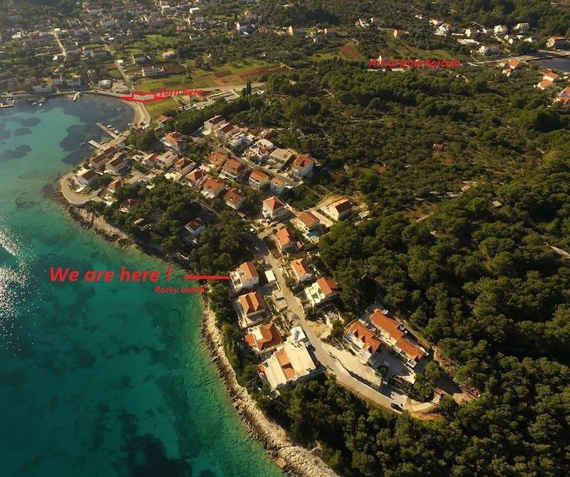 Our area-  Koludrt Peaceful part of Lumbarda