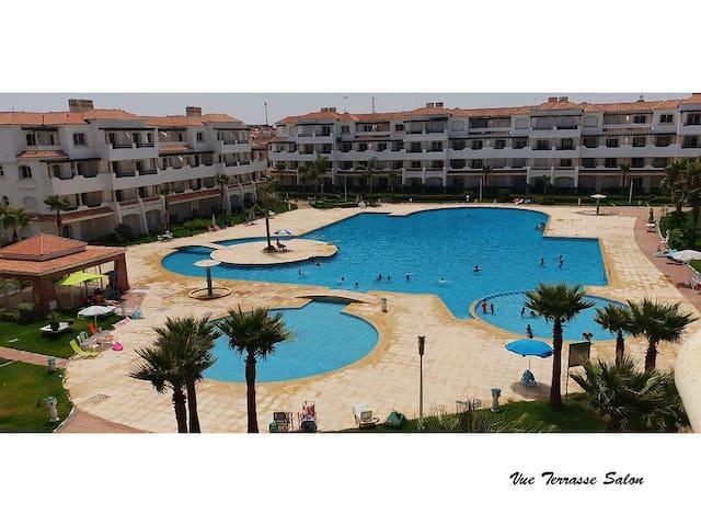 ☆-50% - vue mer et piscine Garden Beach 2
