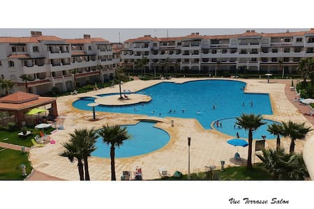 Appart Premium Vue mer et piscine Garden Beach 2