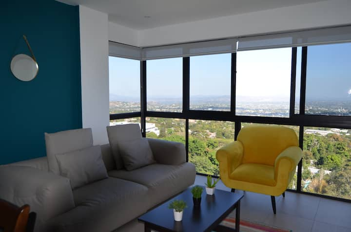 Brand new luxury apartment with incredible view