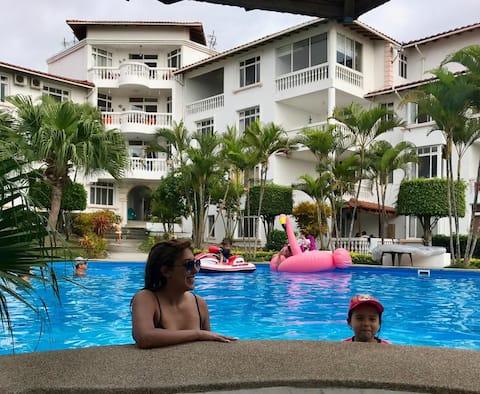 Oceanfront 2 bedroom Aparment for Rent in condo