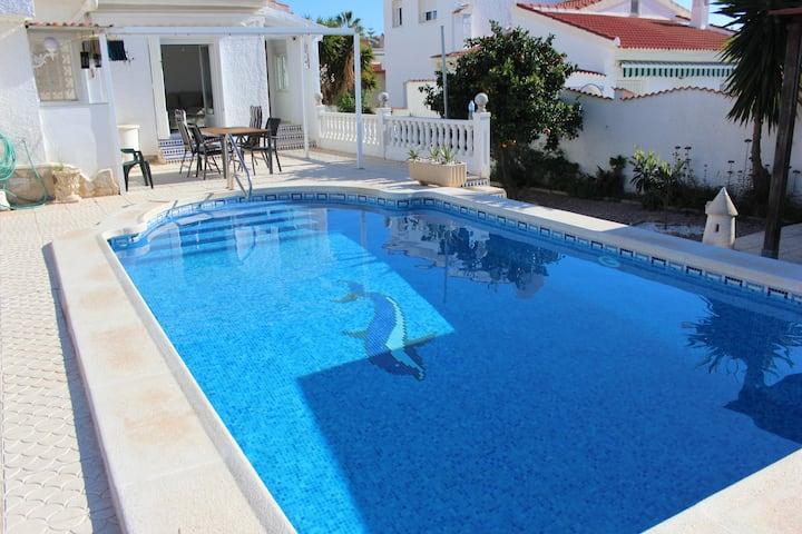 Villa with privat pool, Murillo.