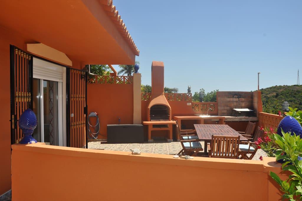 Your private terrace, terraza privado