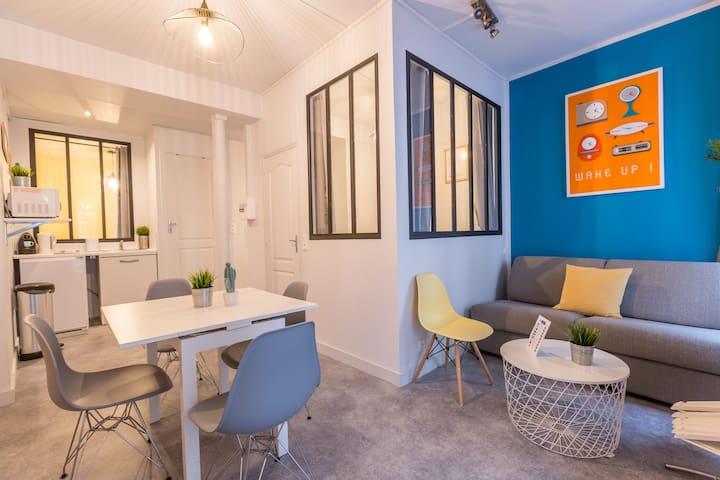 Hôtel de Ville - Marais 6: cosy apartment for 6