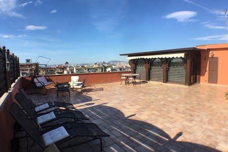Penthouse - Ercolano Vesuvio Pompei - Portici - 公寓