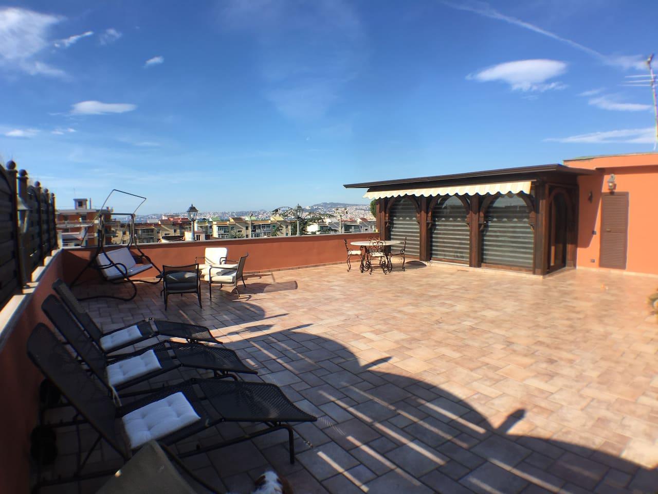 Indipendent sun terrace