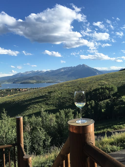 What a view!