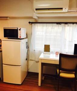 东京都中央区东银座附近筑地市场正对面一室高级公寓,马路对面即是筑地市场、距银座仅1公里方便购物。 - Chūō-ku - 公寓