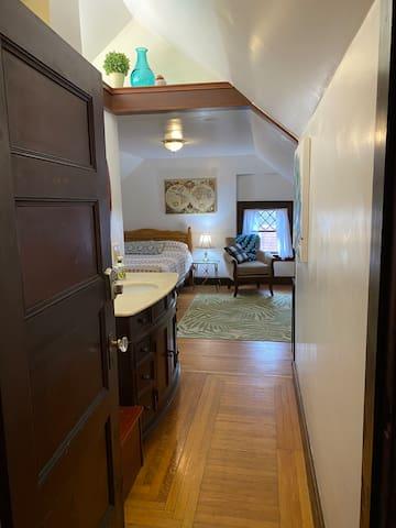 Entering Bedroom