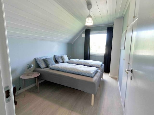 Bedroom number 3, Double or twin room. Both beds are 90 cm X 200 cm.