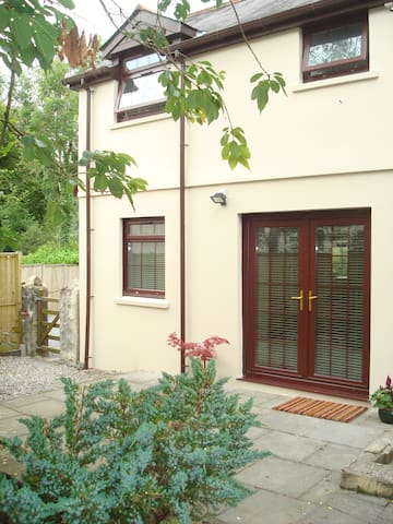 Double patio doors - entrance to Annexe