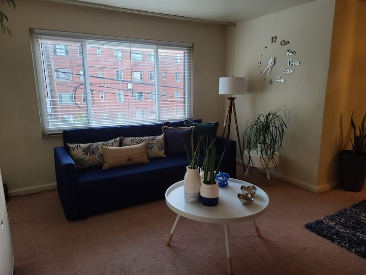 private room on 5th ave( Short or long stay)