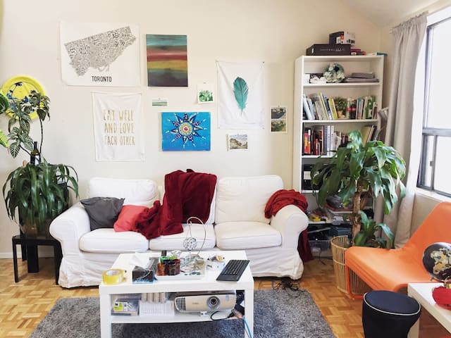 Spacious Loft in the heart of Bloor West Village - Toronto - Apartment