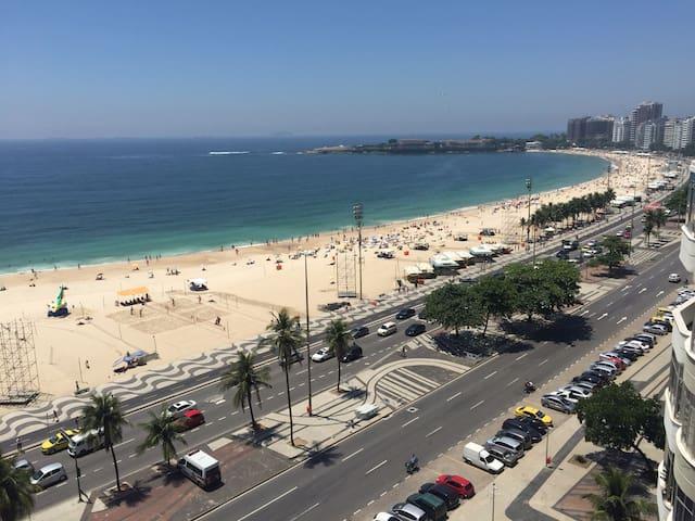 Copacabana apartamento vista mar - Rio de Janeiro - Leilighet