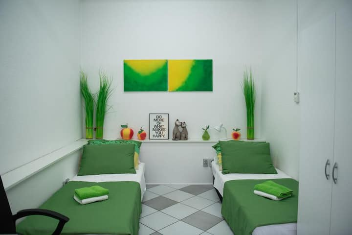 apartment green / the best location in city center