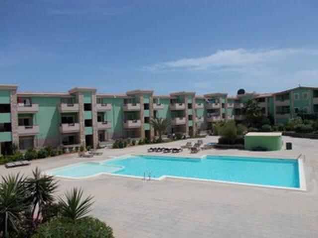 Residence Moradias verde  con piscina privata