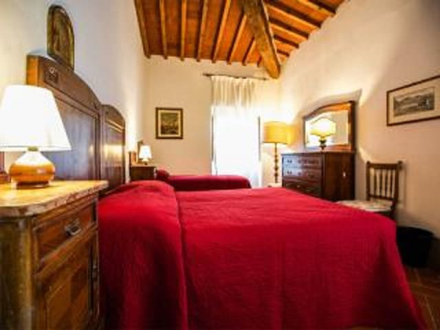 Apt 3pax in villa 18km from Florenc