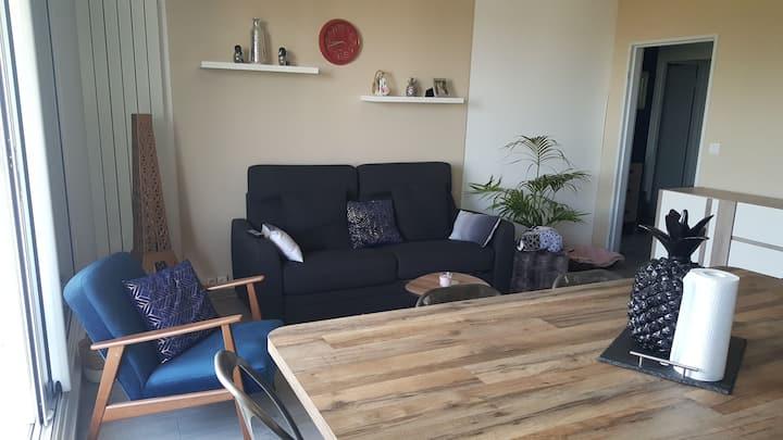 Appartement en résidence entier - 2 chambres