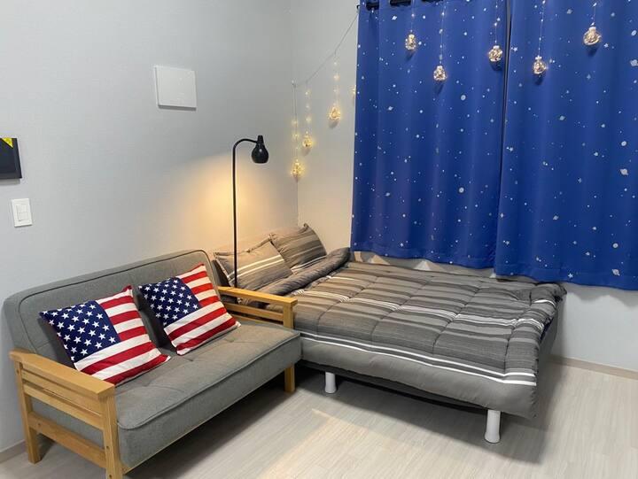 [중앙역 도보5분] 신축복층 아파트 Danika House (넷플릭스,주차무료) 자가격리X