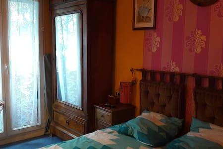Chambre 2 personnes /petit dej dans app. - Saint-Denis - Wohnung