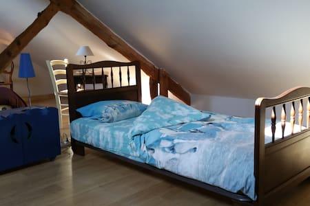 Suite Babouchka dans Domaine du Hardrais - Saint-Gildas-des-Bois - Bed & Breakfast