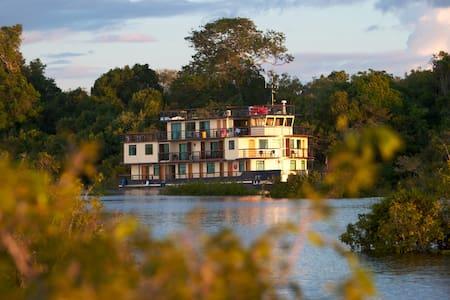 Barco Hotel La Jangada - Cabine Anavilhanas