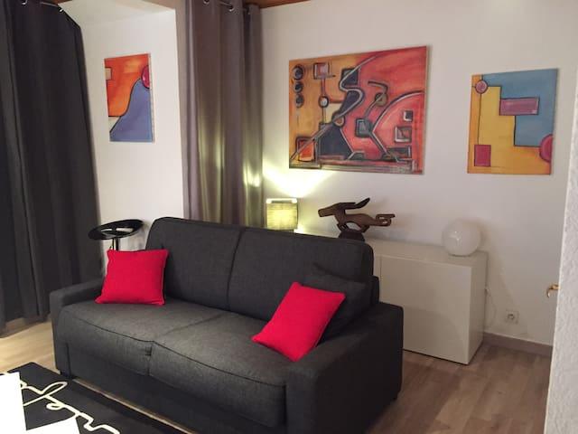 A 2 pas de Bellecour et au calme (parking gratuit) - Lyon - Apartamento