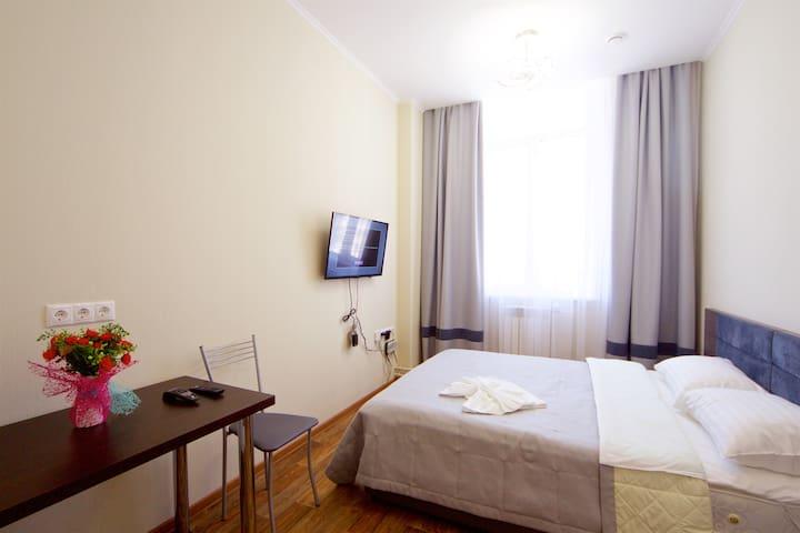 Люкс аппартаменты по эконом-цене! Отличный район.