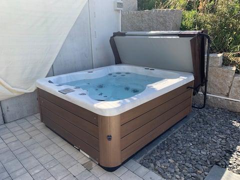 4 * Apartamento SPA jacuzzi y sauna cerca del lago