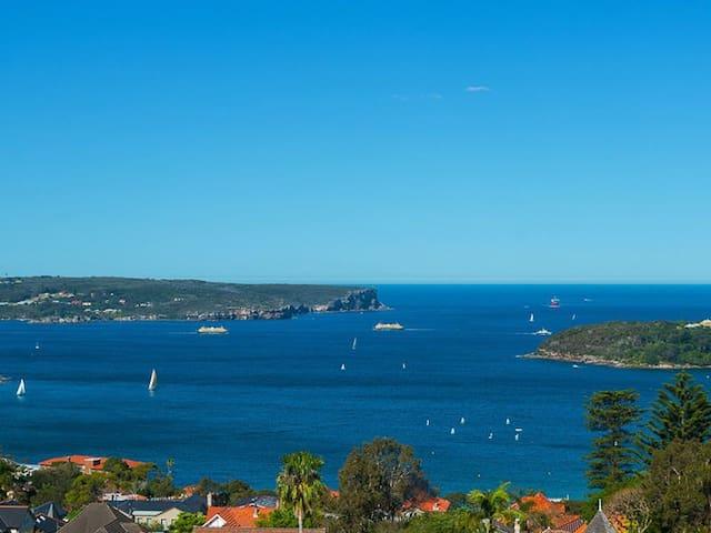 Mosman Sunny 1 bedder - Ocean View, Balmoral Beach - Mosman