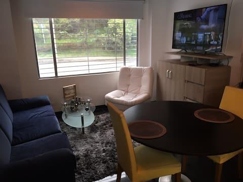 Loft apartamento chapinero alto lujoso nuevo 102