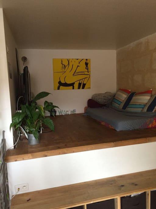 T1 cosy au coeur de bordeaux appartements louer for Location appartement t1 bordeaux